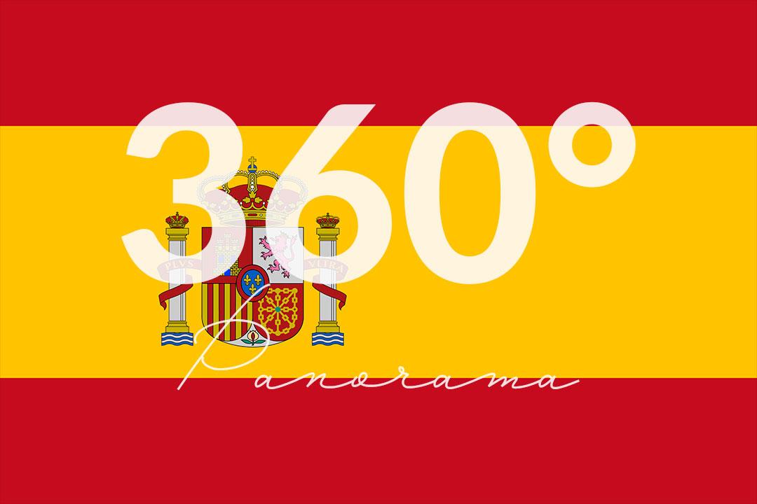 360 Grad - Panorama Spanien